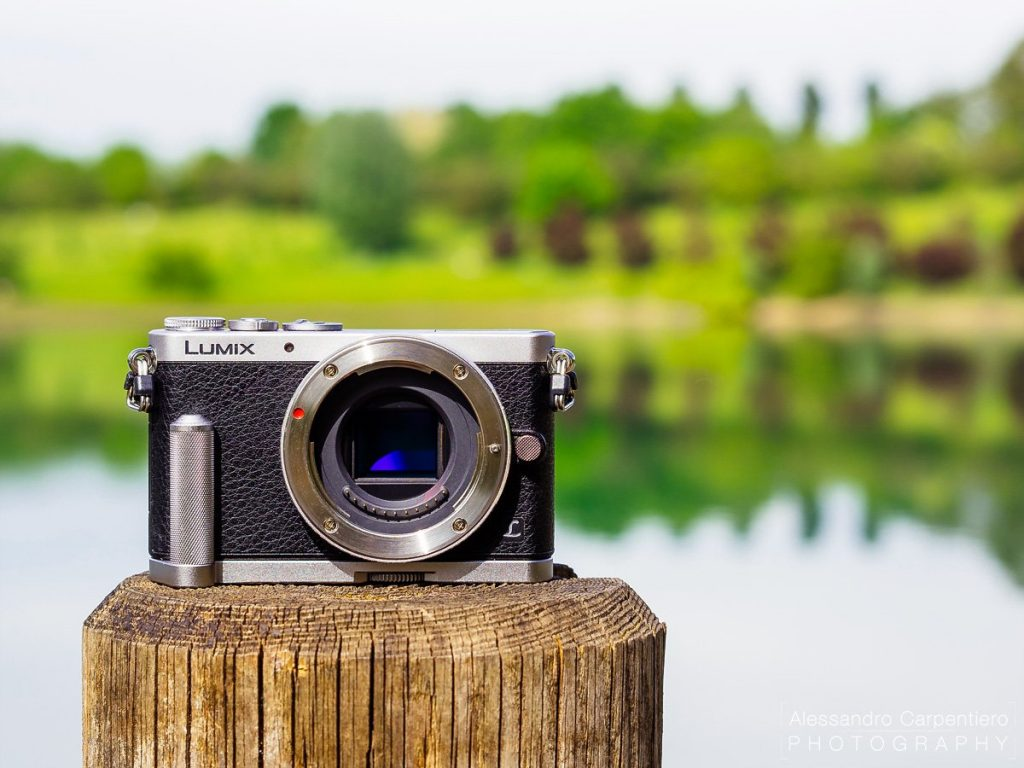 The Panasonic GM1 it's a super small camera which retains a very good image quality. You can take it everywhere.