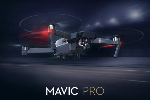 dji mavic pro flying
