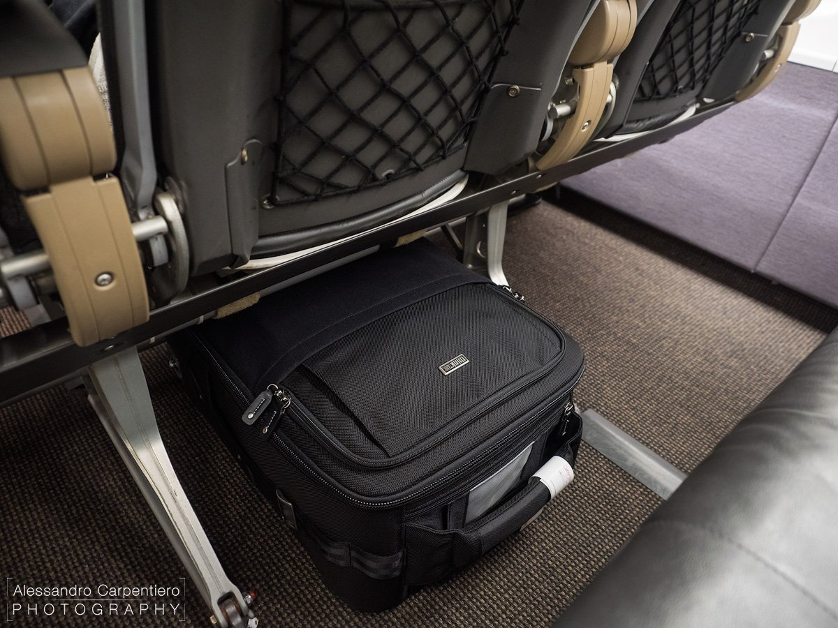 """""""Under The Seat In Front Of You?"""" It fits."""