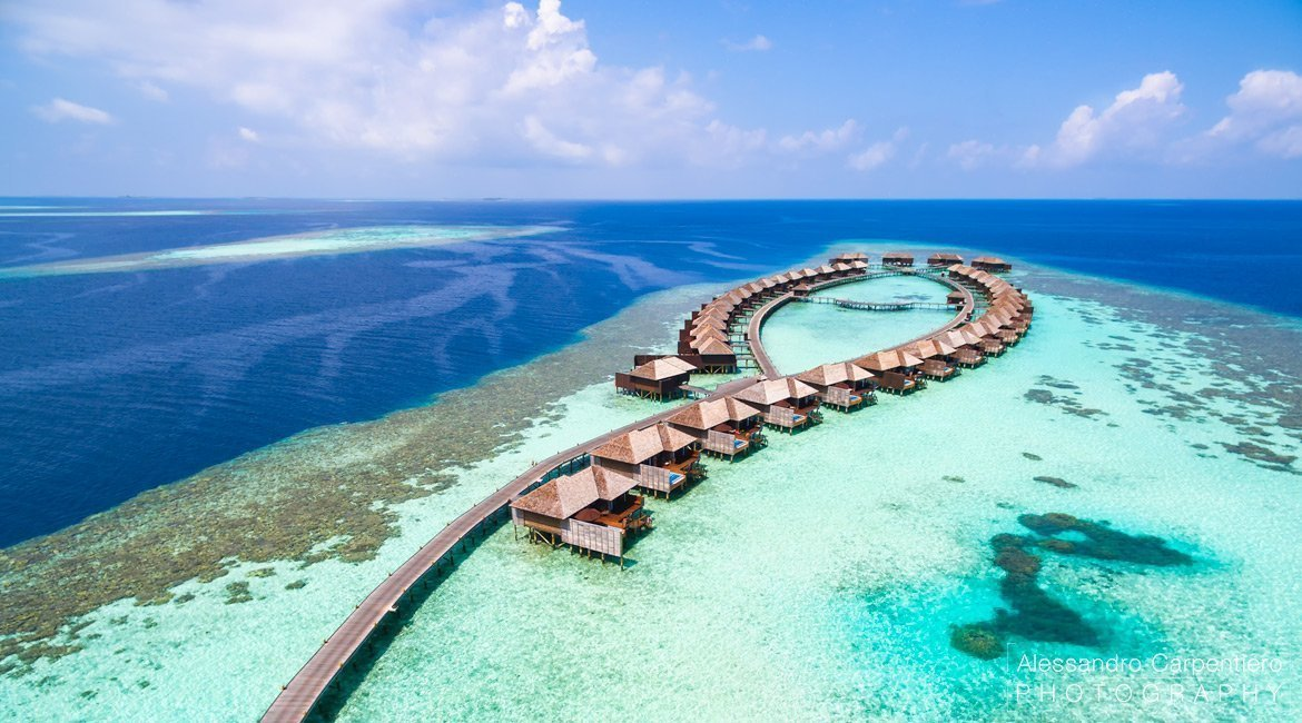 Lily Beach Resort Maldives Map
