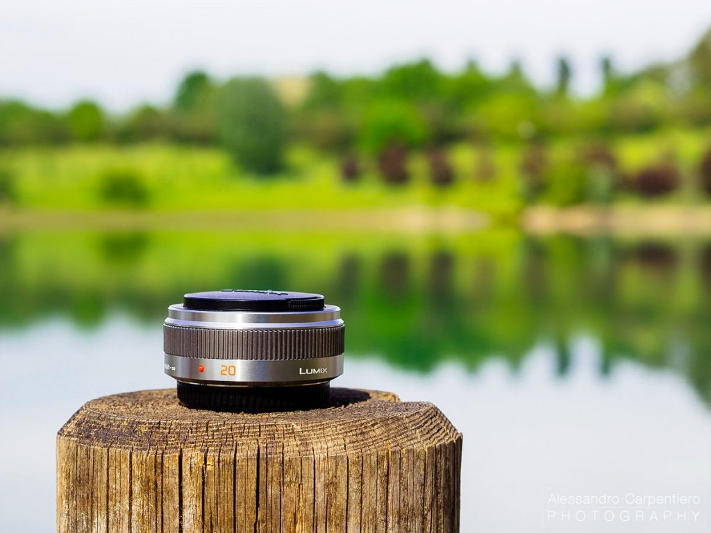 Panasonic 20mm F/1.7 is a pancake lens which delivers very nice result with a pleasing bokeh.