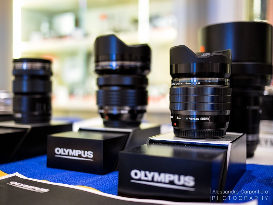 The Olympus 8mm f/1.8 fisheye PRO is the brightest fisheye lens in the market