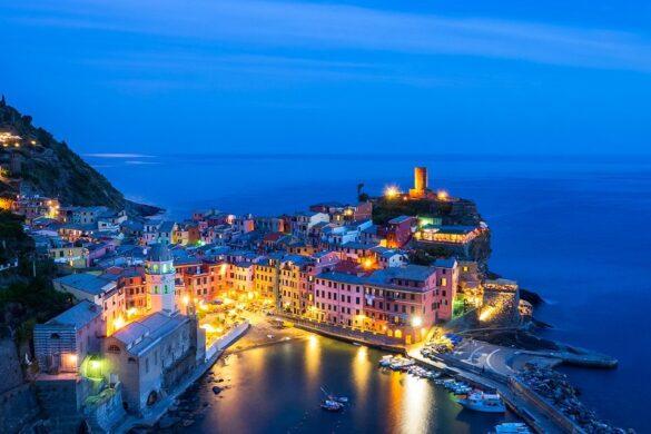 Vernazza is one of the cinque terre (riomaggiore, manarola, corniglia, vernazza, monterosso). It's just above the sea and it's a perfect place to enjoy the italian culture.