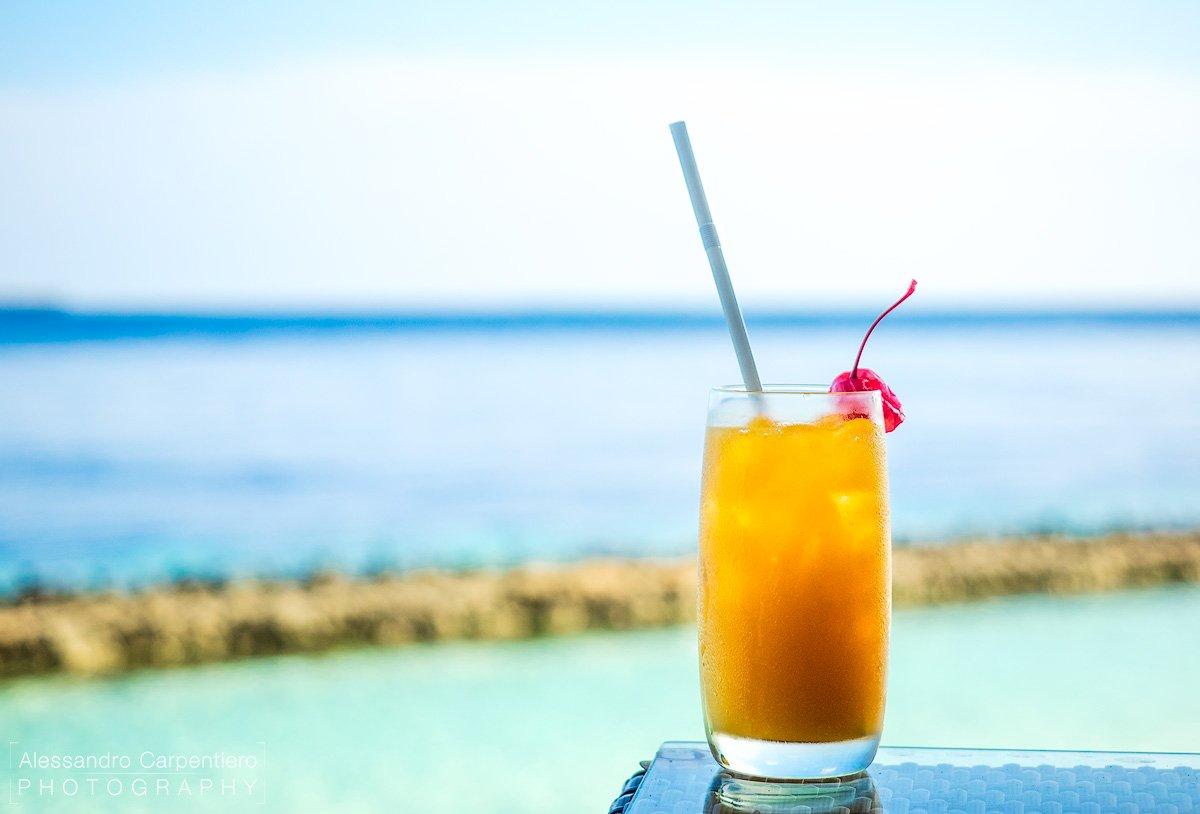 Succo di frutta alle maldive