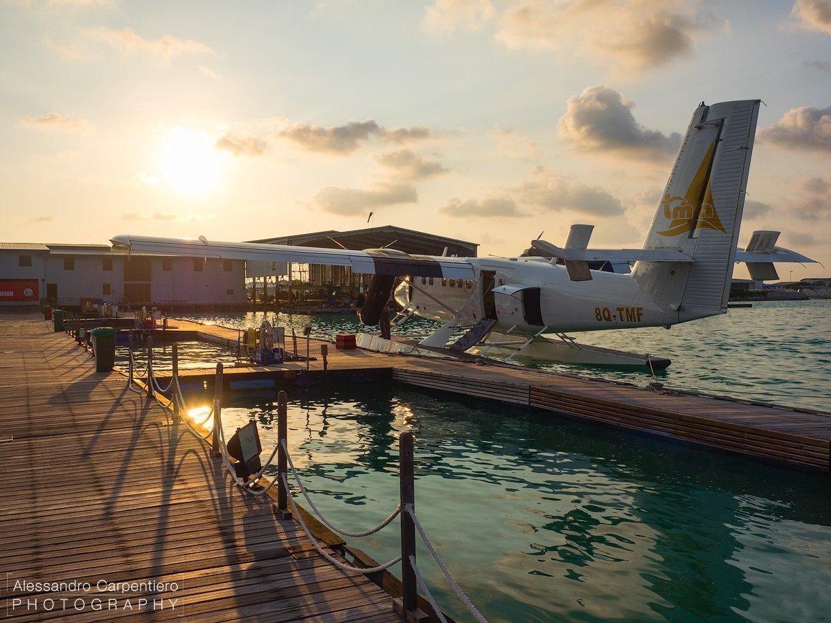 idroporto alle maldive