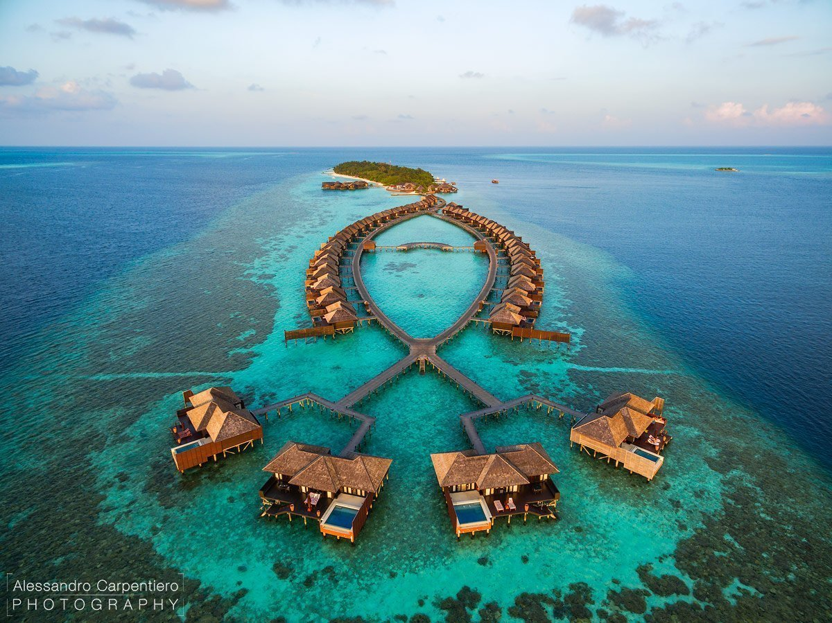sunset water suites lily beach maldives