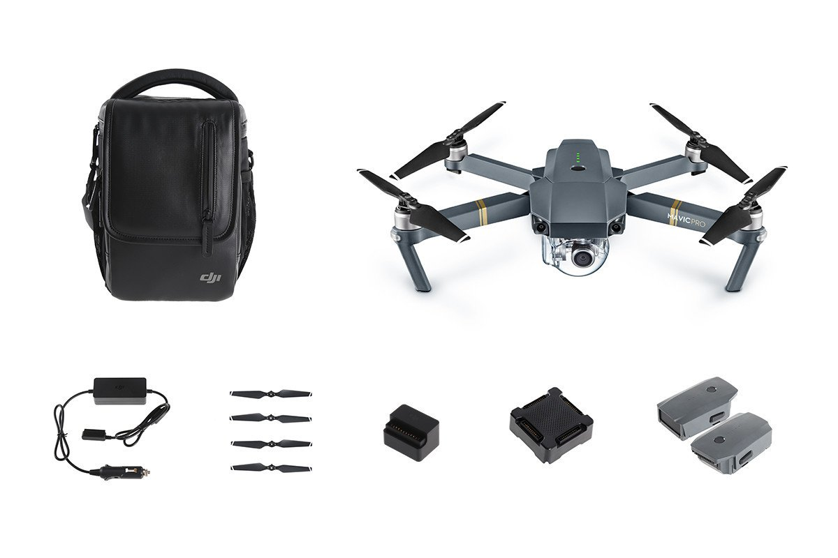 dji mavic pro bundle package