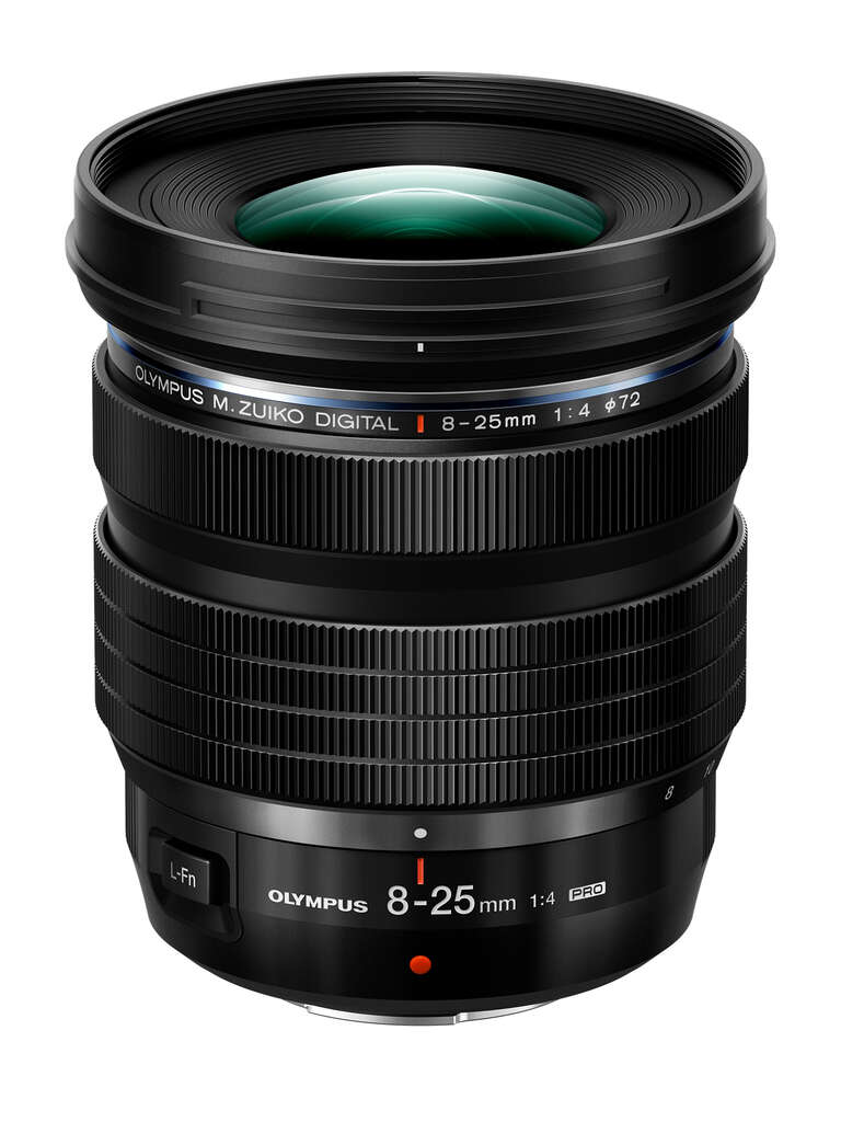 Olympus 8-25mm f4 pro